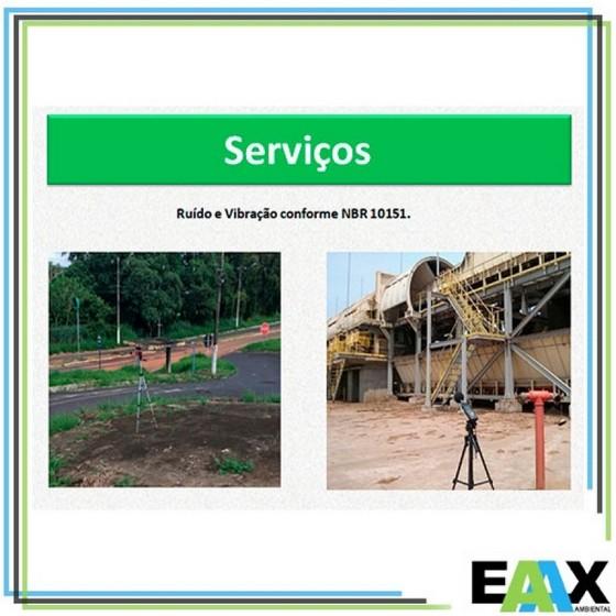 Empresa para Laudo de Vibração Ambiental Araguaína - Laudo Vibração Ambiental para Ambientes Fechados
