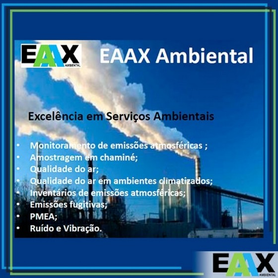 Procuro Empresa para Amostragem de Emissões Atmosféricas Industriais Socorro - Empresa para Amostragem de Emissões Atmosféricas Fundição