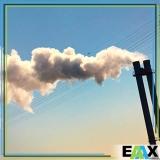 amostragem de emissões atmosféricas e qualidade do ar