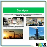 amostragens de emissões atmosféricas na construção civil Pacajus