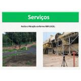 análise de ruído ambiental hospital Arcadas