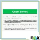 empresa para amostragem de emissão atmosférica caldeira local Ribeirão Pires