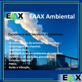 procuro empresa para amostragem de emissões atmosféricas fontes fixas Água Bonita