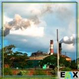 qualidade do ar em usinas Biritiba Mirim