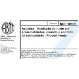 ruído ambiental nbr 10151 Araçoiabinha